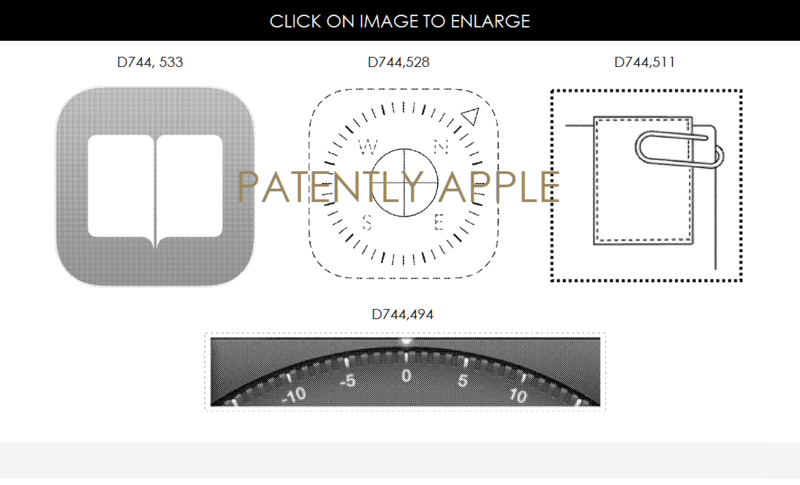 4AF 55 DESIGN PATENTS FOR ICONS, SCREEN PORTIONS