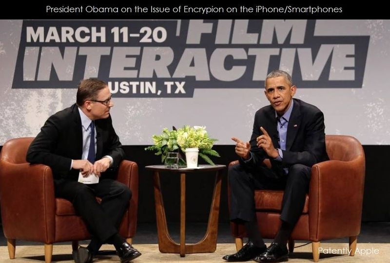 1AF 55 COVER PRESIDENT OBAMA ON ENCRYPTION