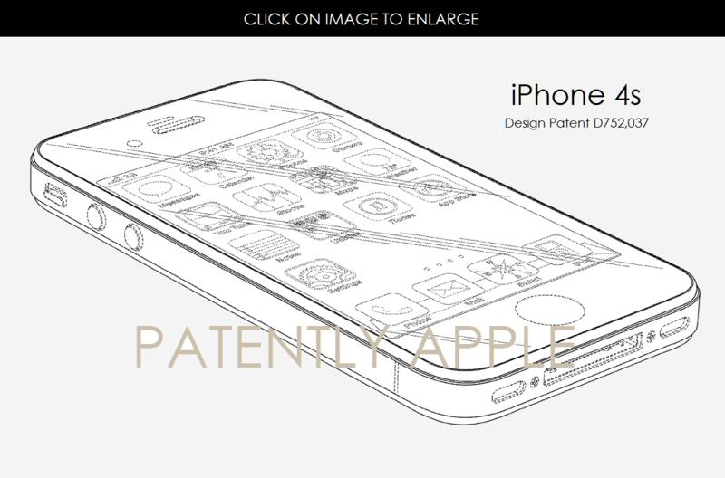 2AF IPHONE 4S DESIGN PATENT