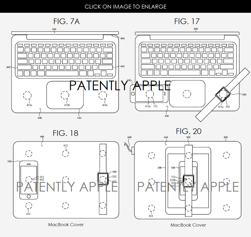 a new apple invention covers inductive charging between