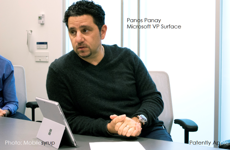 2af 55 Panos Panay Microsoft Surface VP