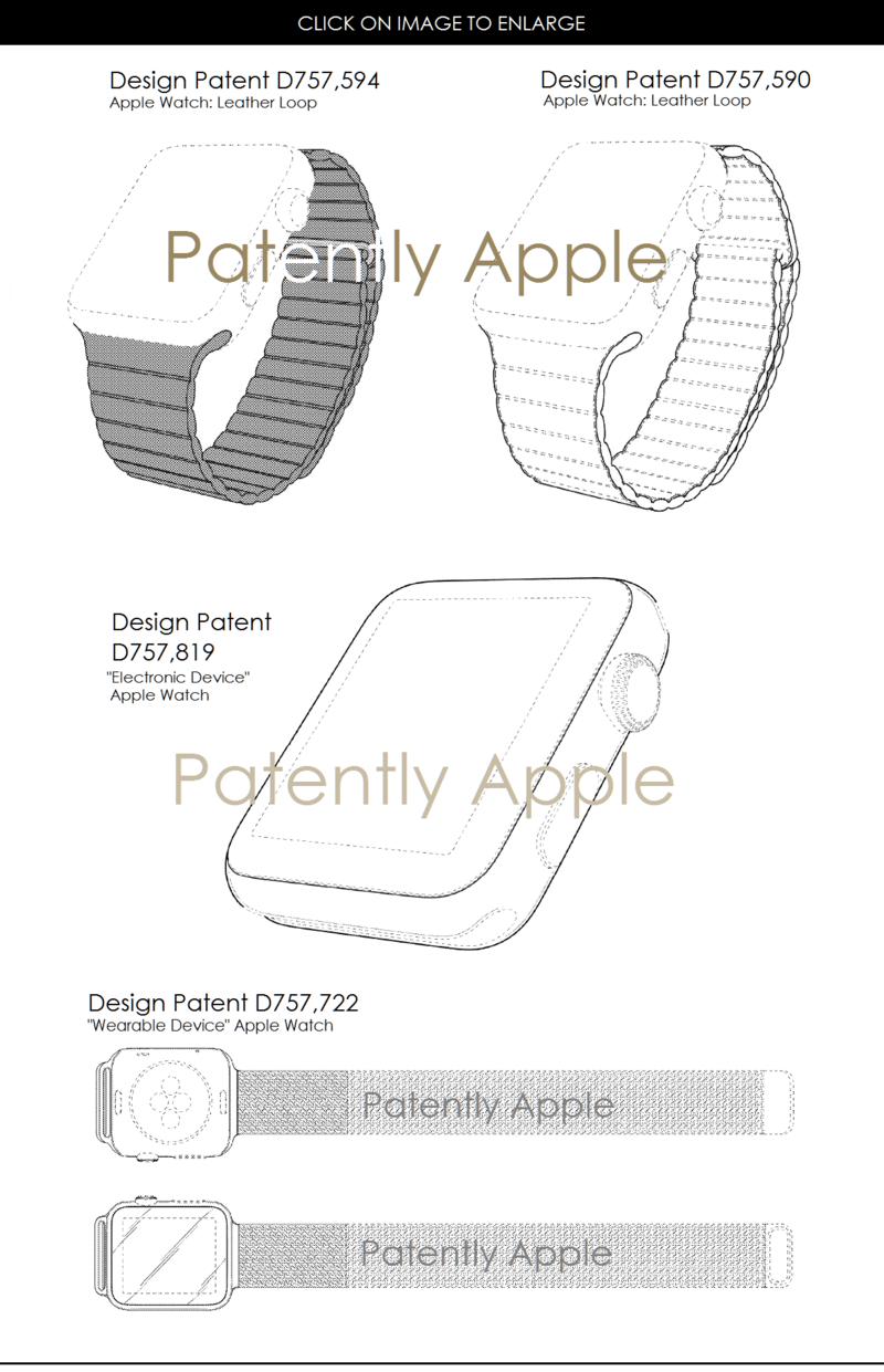 4af 55 apple watch design patents