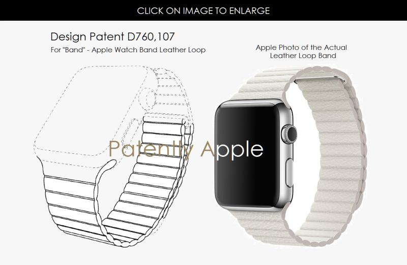 3af design patent apple watch