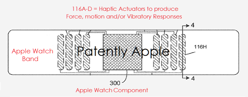 1af 88 Cover - apple watch band - haptics