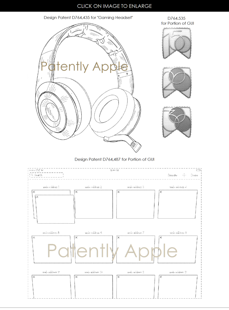 4 AA GAMING HEADSET + DESIGN PATENT