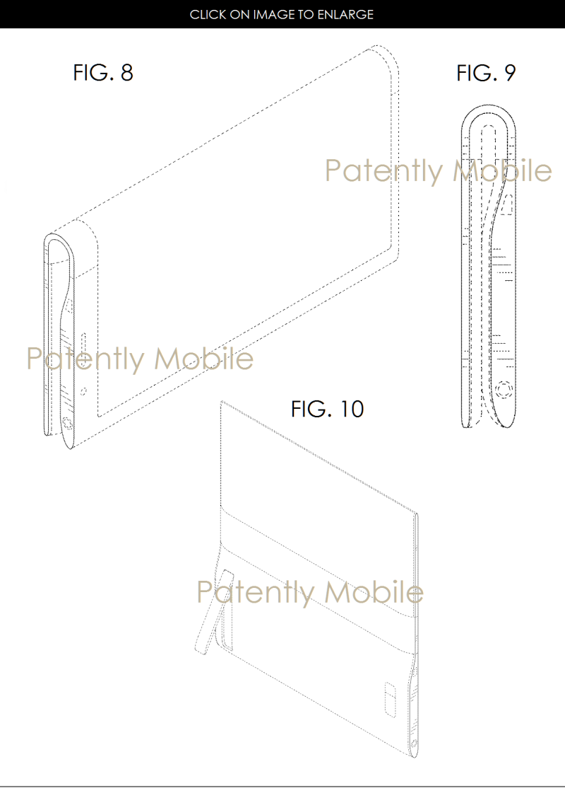 3AX 99 SAMSUNG DESIGN PATENT FOLDABLE TABLET