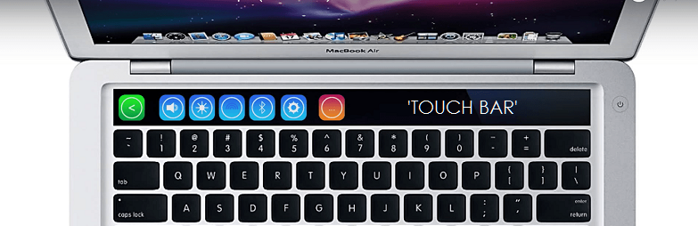 1AF X 99 TOUCH BAR MACBOOK TM