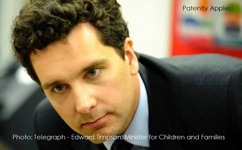 1 AX 99 EDWARD TIMPSON UK MINISTER FOR CHILDREN AND FAMILIES