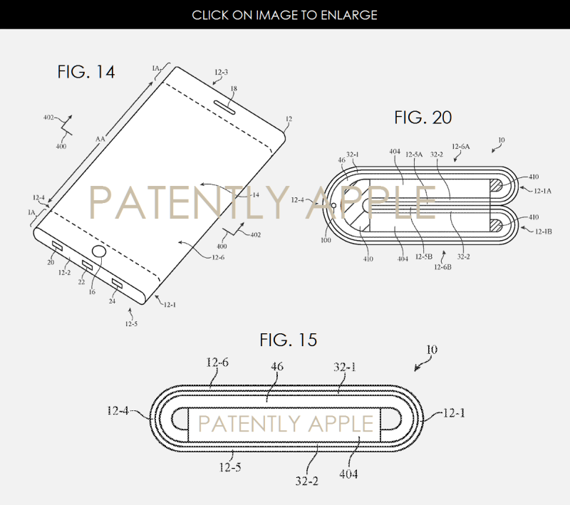 4AF X 99 APPLE PATENT FOR CURVED, FLEXIBLE FOLDABLE DISPLAYS
