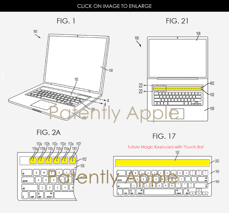 2AF XL88 TOUCH BAR PATENT