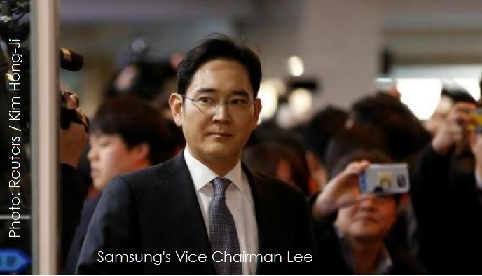 Korea's Special Counsel Recommends Arresting Samsung's Vice Chairman, the Court will Decide on Wednesday
