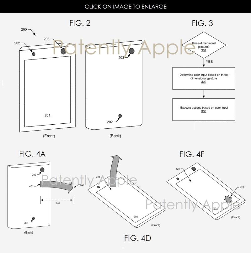 2af x88 Facebook Smartphone 3D gesturing