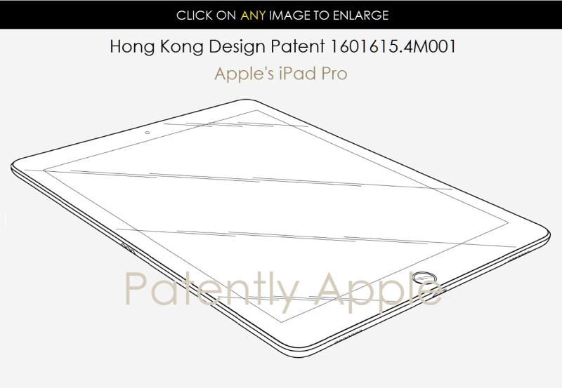 2AF X88 APPLE IPAD PRO HONG KONG DESIGN PATENT .4M001