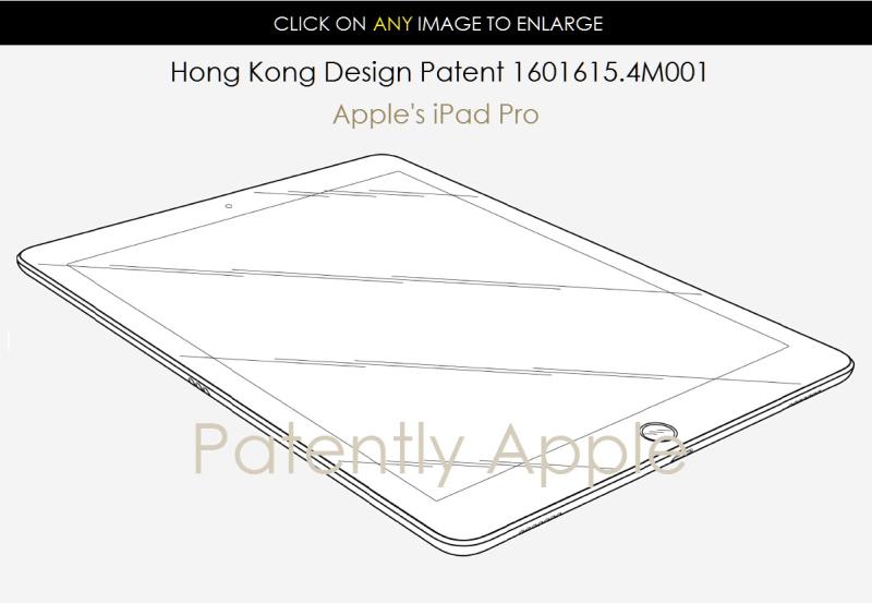 2AF X88 APPLE IPAD PRO HONG KONG DESIGN PATENT .4M001