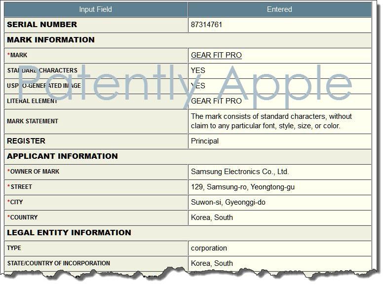3af X88 - Gear Fit Pro Samsung TM