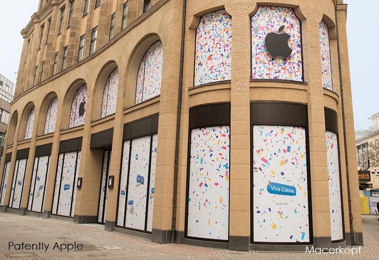1 AF COVER X2017  apple store schildergasse fassade