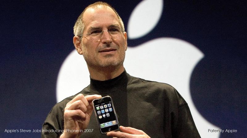 2af XX99 Steve Jobs holding 2007 original iPhone