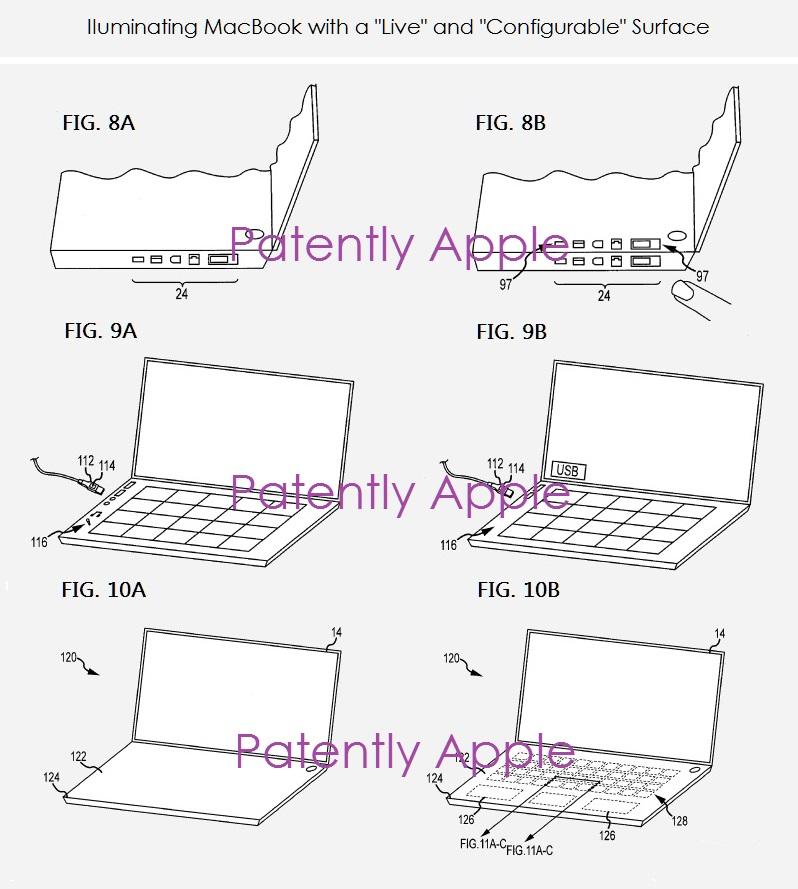 2af x9999 macbook with dual display configuration  virtual keyboard +
