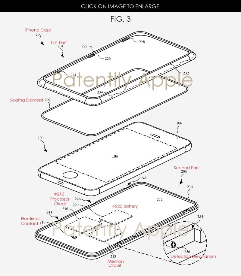 2af x86 iPhone smart case