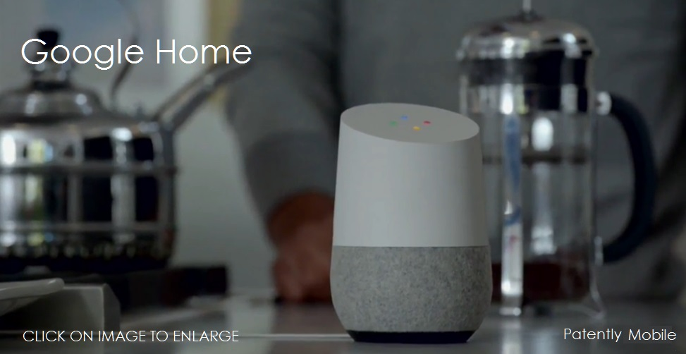 photo image Today Google Home's Virtual Assistant can learn its Owner's voice for Security Reasons like Apple's Patent Pending Idea