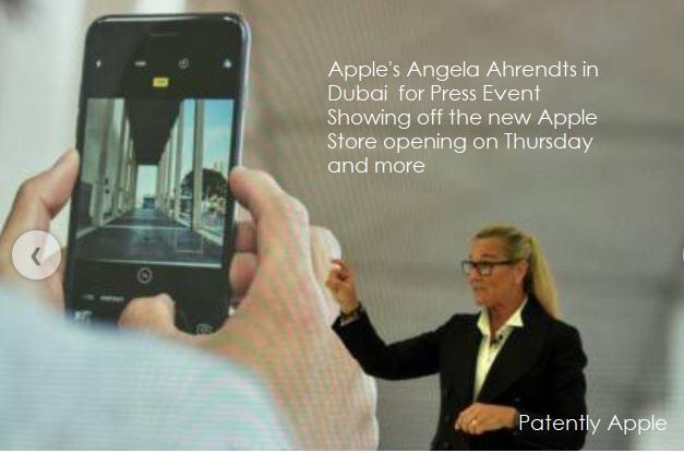 2 X99 dubai angela AHRENDTS IN DUBAI APR 25  2017