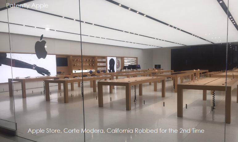 1A 9999 XX APPLE STORE ROBBED IN CALIFORNIA