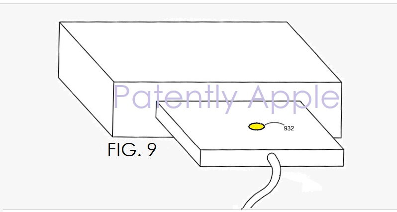 1 AX99 COVER APPLE PATENT  CONNECTOR THAT LIGHT UP AND COMMUNICATE  AUTHENTICATE