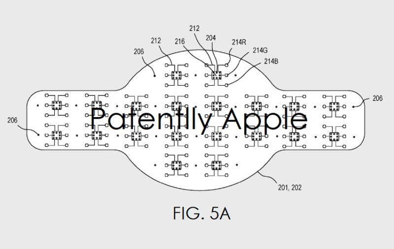3AF X FIG 5A APPLE WATCH PATENT