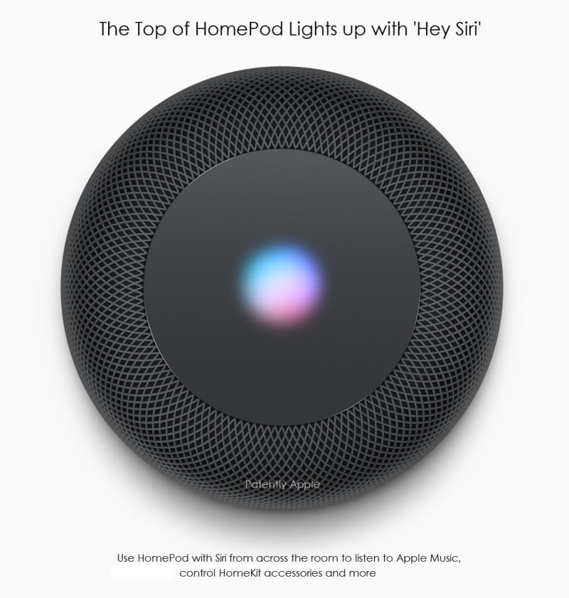 3af X 99 Apple homepod-siri-interact patently apple