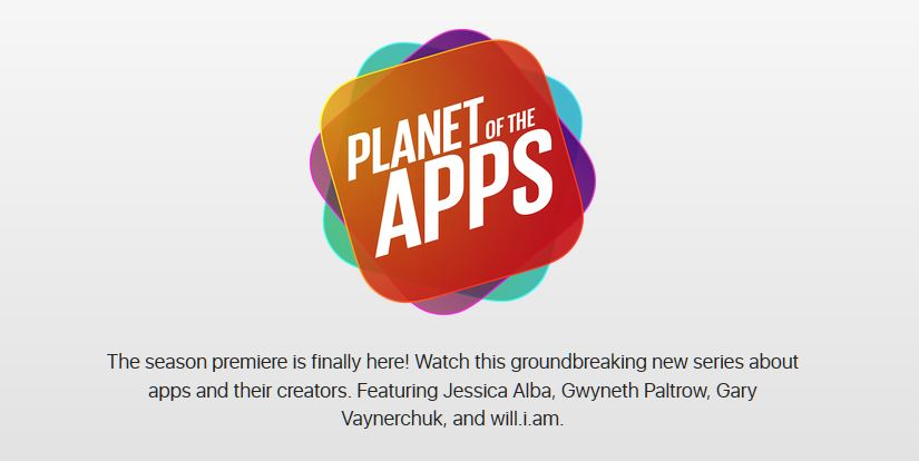 The Premier Episode of 'Planet of the App' Aired Last Night
