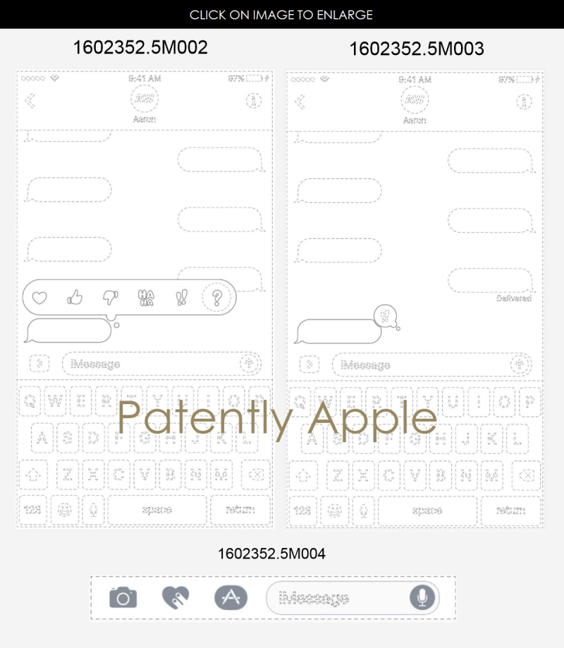 4AF X99 APPLE WINS DESIGN PATENTS IN HONG KONG  IMESSAGE