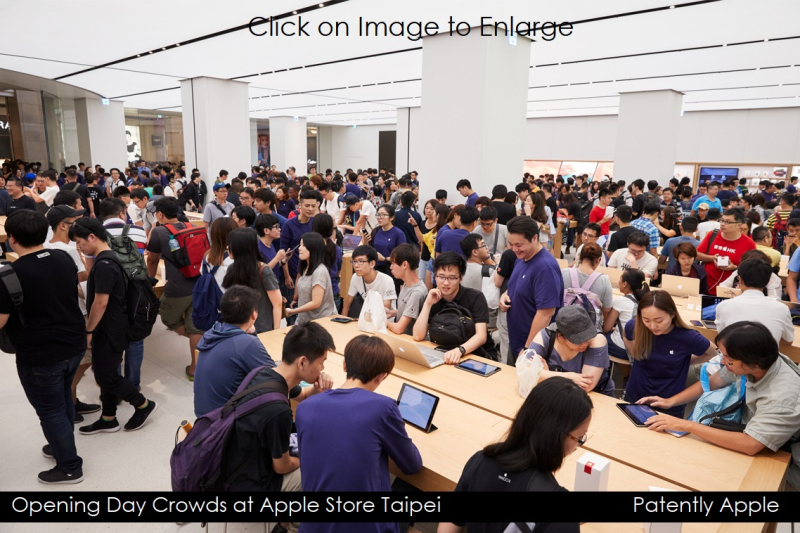 3AF X99 L- nso-taipei-opening-crowd-inside JULY 01  2017 - PATENTLY APPLE