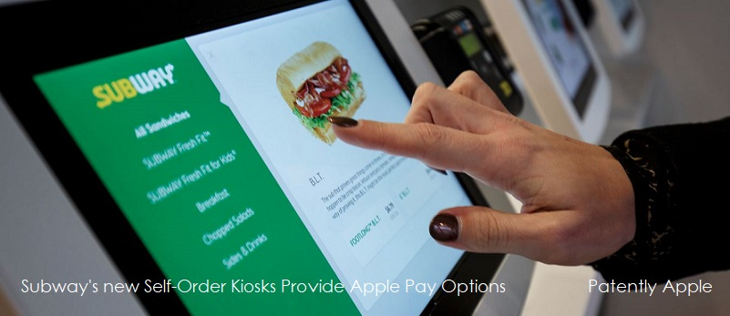 photo image Next-Gen Subway Restaurants offer Apple Pay at Self-Serve Kiosks along with USB Charging & Complimentary Wi-Fi