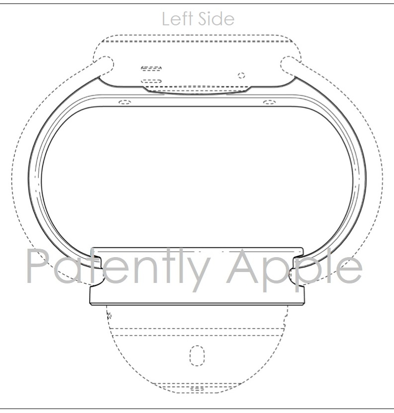 5AF X99 APPLE WATCH STAND STAND DESIGN PATENT HONG KONG  PATENTLY APPLE