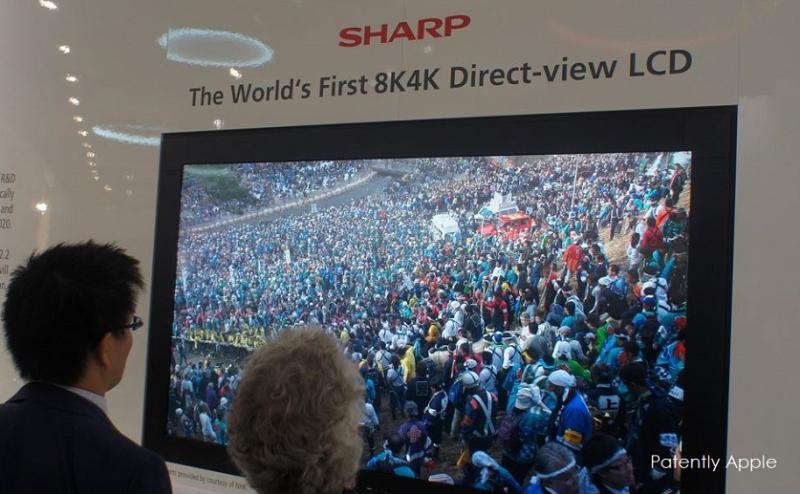 1AF X SHARP WORLD'S FIRST 8K TVS