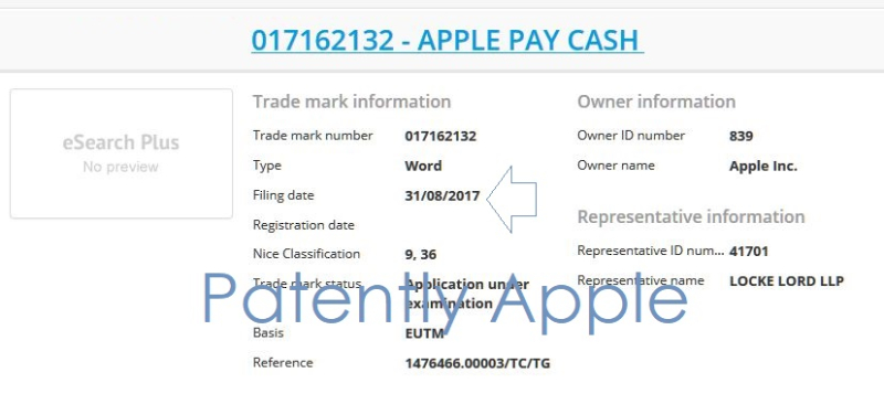3AF X APPLE TM #2 APPLE PAY CASH