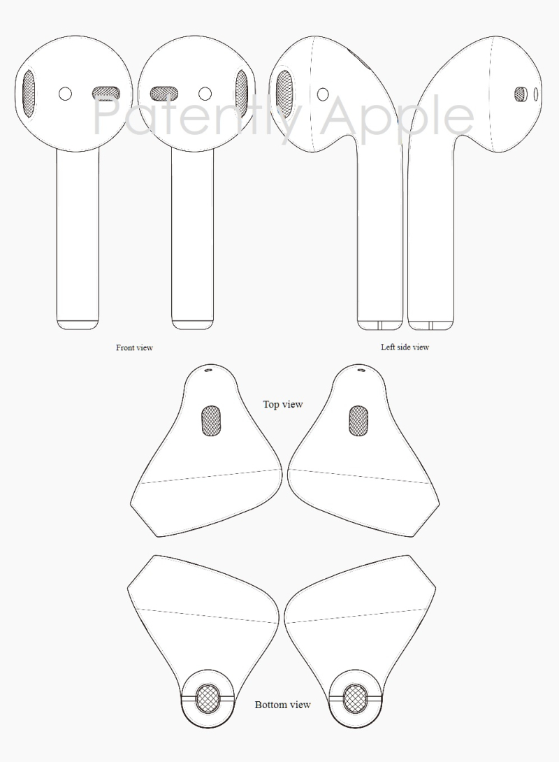 9AFX 99 AIRPODS - HONG KONG GRANTS APPLE DESIGN PATENT 1700364.9M001 SEPT 2017