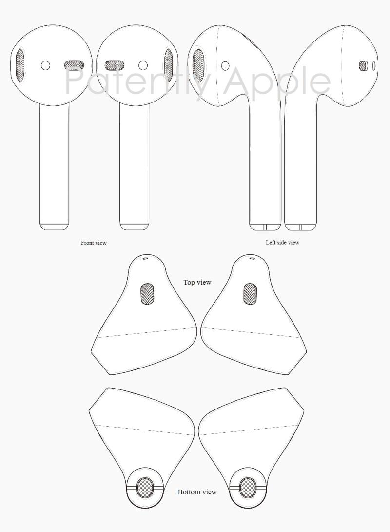 9AFX 99 AIRPODS - HONG KONG GRANTS APPLE DESIGN PATENT 1700364.9M001 SEPT 2017