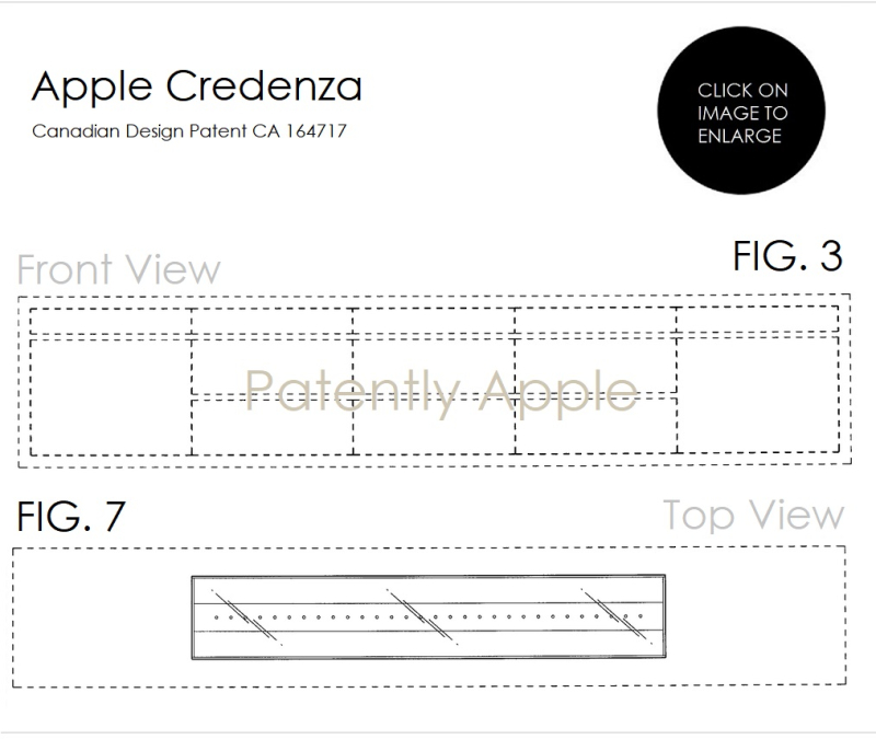 2AF DESIGN PATENT FOR CREDENZA ISSUED BY CANADA