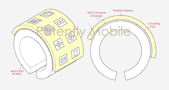 1 COVER SAMSUNG SMART BRACELET WINS PATENT