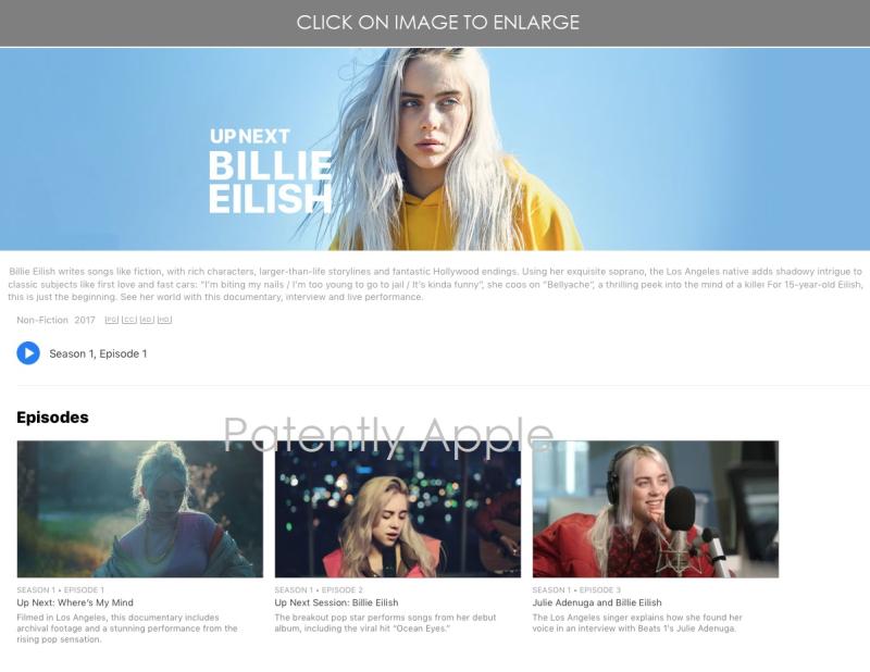 3 BILLIE EILISH ON APPLE MUSIC