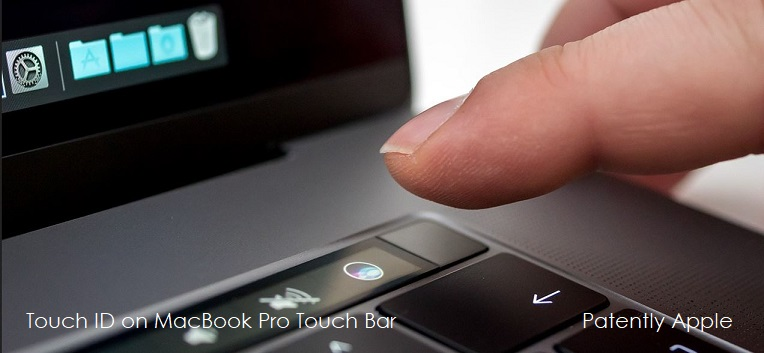 2  TOUCH ID ON MACBOOK PRO - PATENT