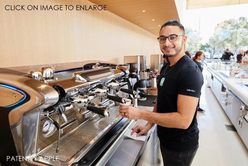6 Apple Park Visitor Center Cafe employee