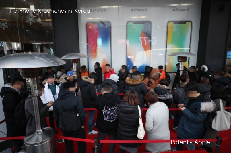 Apple Fans in South Korea Jam SK Telecom Store to the get their hands on the new iPhone X