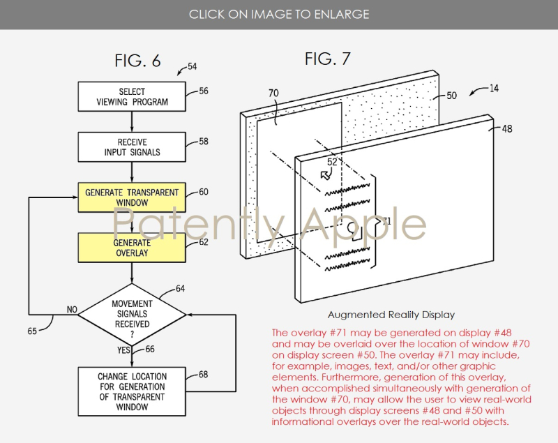 2 AUGMENTED REALITY DISPLAY APPLE WINS PATENT NOV 2017 PATENTLY APPLE