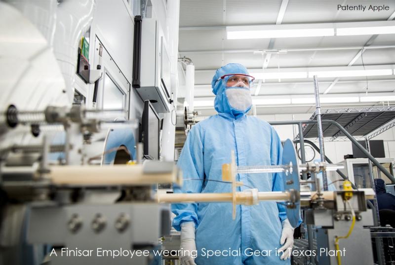 4 finisar employee wears special gear in texas plant