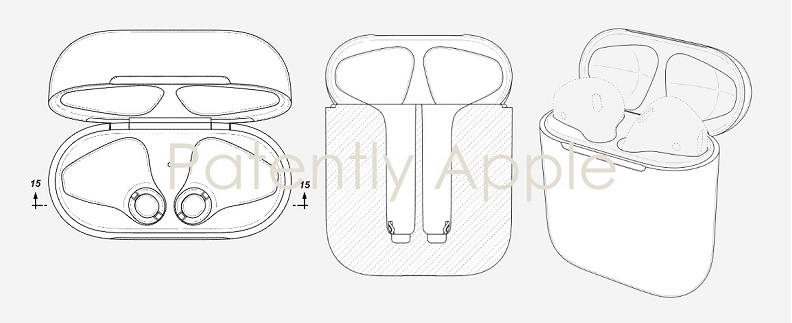 1 cover - Granted Design Patent for AirPods case