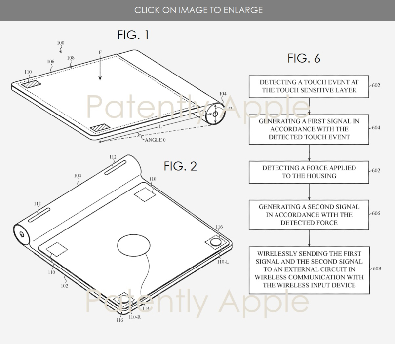 5s Apple Magic Pad patent granted Jan 2  2018 Patently Apple