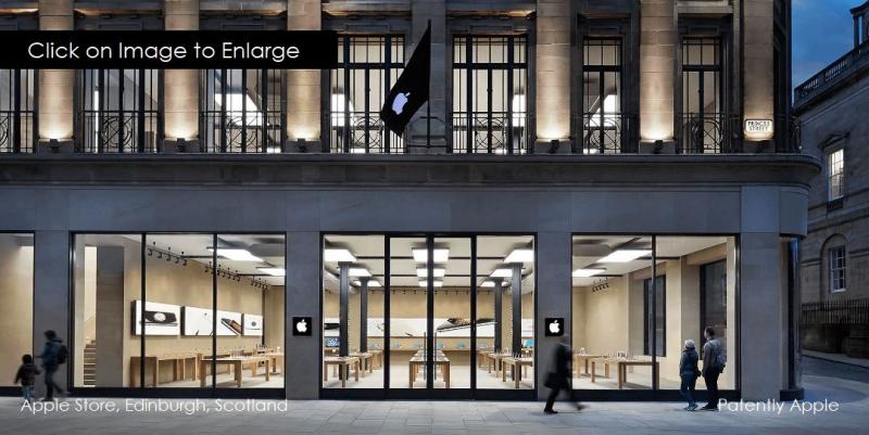 1 X COVER  apple store scotland