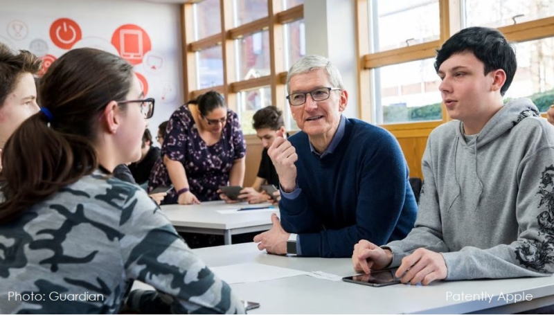 1 X 2018 cover Tim Cook in Europe